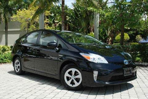 2013 Toyota Prius for sale at Auto Quest USA INC in Fort Myers Beach FL