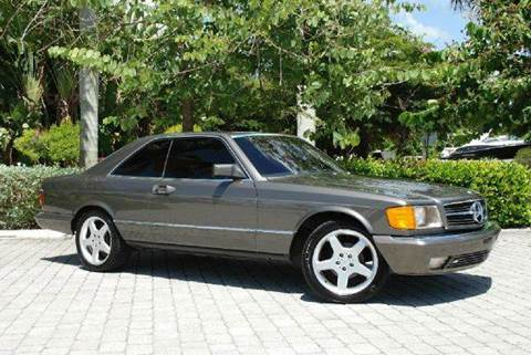 1985 Mercedes-Benz 500-Class for sale at Auto Quest USA INC in Fort Myers Beach FL