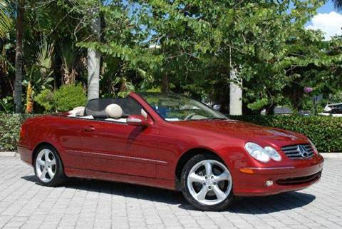 2004 Mercedes-Benz CLK-Class for sale at Auto Quest USA INC in Fort Myers Beach FL
