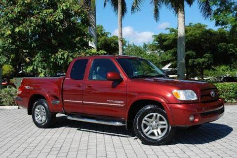 2003 Toyota Tundra for sale at Auto Quest USA INC in Fort Myers Beach FL