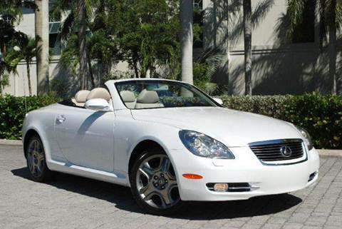 2007 Lexus SC 430 for sale at Auto Quest USA INC in Fort Myers Beach FL