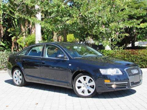2006 Audi A6 for sale at Auto Quest USA INC in Fort Myers Beach FL
