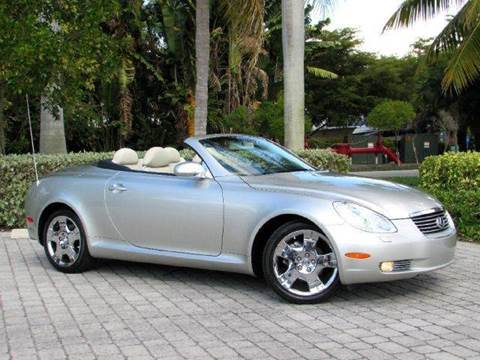 2002 Lexus SC 430 for sale at Auto Quest USA INC in Fort Myers Beach FL