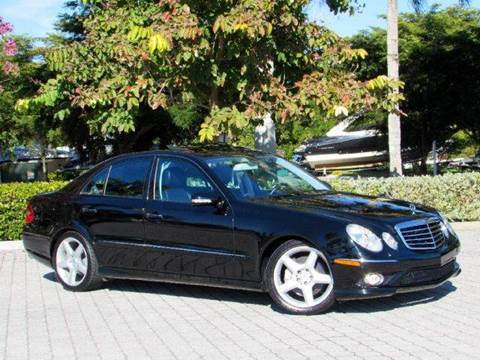2009 Mercedes-Benz E-Class for sale at Auto Quest USA INC in Fort Myers Beach FL