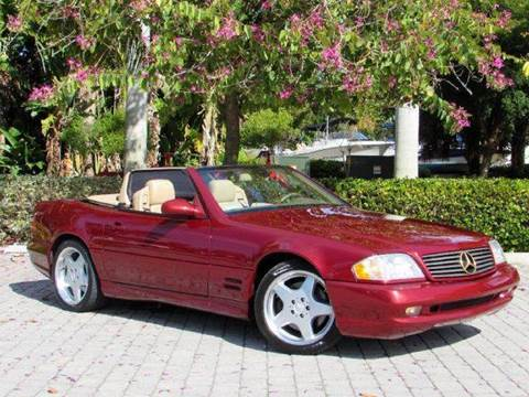 2001 Mercedes-Benz SL-Class for sale at Auto Quest USA INC in Fort Myers Beach FL