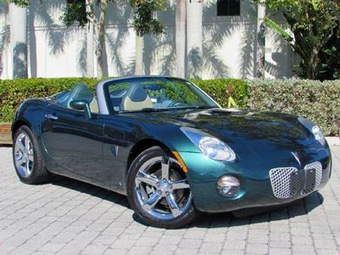 2007 Pontiac Solstice for sale at Auto Quest USA INC in Fort Myers Beach FL