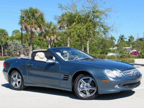 2003 Mercedes-Benz SL-Class for sale at Auto Quest USA INC in Fort Myers Beach FL