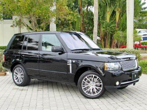2011 Land Rover Range Rover for sale at Auto Quest USA INC in Fort Myers Beach FL