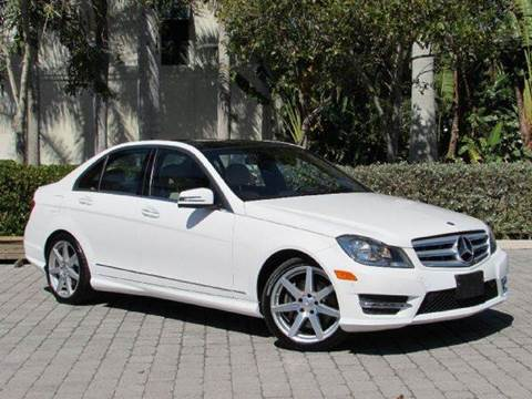 2013 Mercedes-Benz C-Class for sale at Auto Quest USA INC in Fort Myers Beach FL