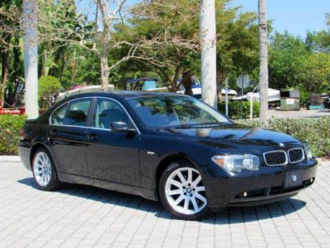 2002 BMW 7 Series for sale at Auto Quest USA INC in Fort Myers Beach FL