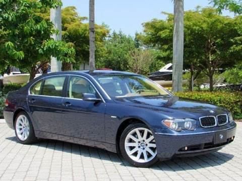2004 BMW 7 Series for sale at Auto Quest USA INC in Fort Myers Beach FL