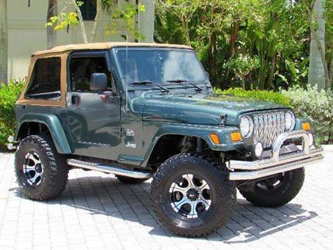 2004 Jeep Wrangler for sale at Auto Quest USA INC in Fort Myers Beach FL