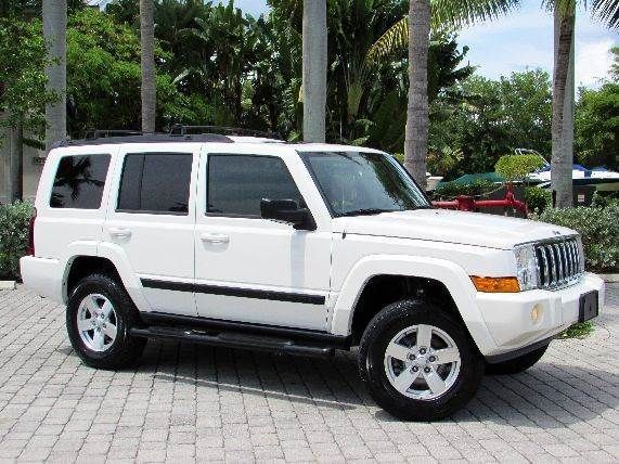 2007 Jeep Commander for sale at Auto Quest USA INC in Fort Myers Beach FL