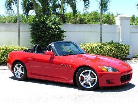 2003 Honda S2000 for sale at Auto Quest USA INC in Fort Myers Beach FL