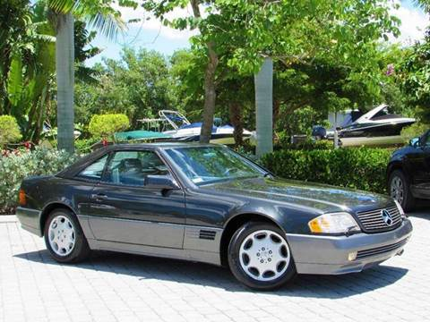 1995 Mercedes-Benz SL-Class for sale at Auto Quest USA INC in Fort Myers Beach FL