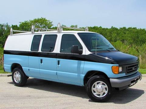 2007 Ford E-Series Cargo for sale at Auto Quest USA INC in Fort Myers Beach FL
