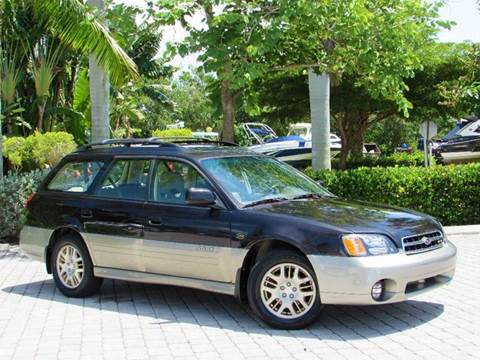 2001 Subaru Outback for sale at Auto Quest USA INC in Fort Myers Beach FL