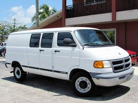 2000 Dodge Ram Van for sale at Auto Quest USA INC in Fort Myers Beach FL