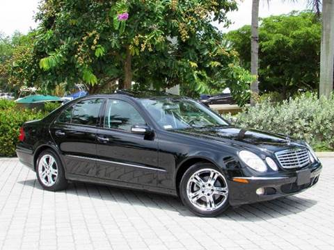 2006 Mercedes-Benz E-Class for sale at Auto Quest USA INC in Fort Myers Beach FL