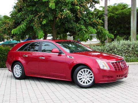 2012 Cadillac CTS for sale at Auto Quest USA INC in Fort Myers Beach FL