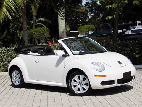 2009 Volkswagen New Beetle for sale at Auto Quest USA INC in Fort Myers Beach FL