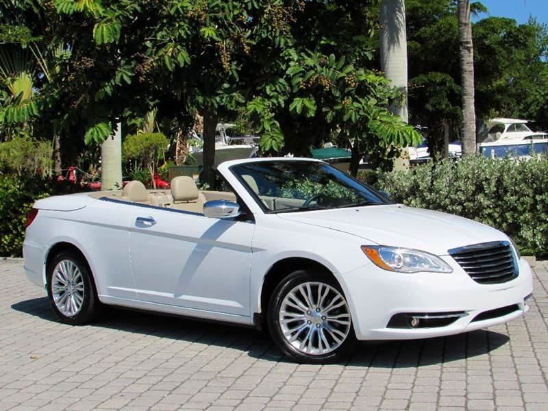 2014 chrysler 200 convertible limited in fort myers beach fl auto rh autoquestusa net 2013 chrysler 200 convertible owners manual 2016 Chrysler 200 Convertible