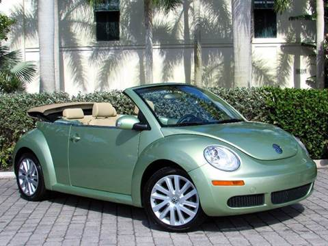 2008 Volkswagen New Beetle for sale at Auto Quest USA INC in Fort Myers Beach FL