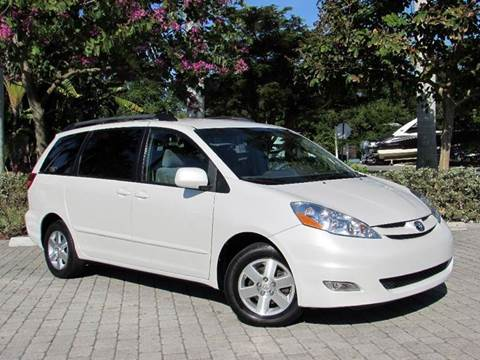 2007 Toyota Sienna for sale at Auto Quest USA INC in Fort Myers Beach FL