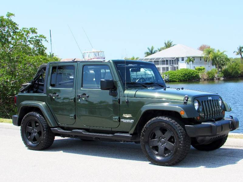 2007 Jeep Wrangler Unlimited For Sale At Auto Quest USA INC In Fort Myers  Beach FL