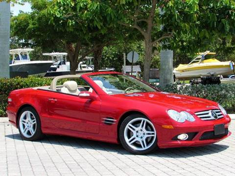 2008 Mercedes-Benz SL-Class for sale at Auto Quest USA INC in Fort Myers Beach FL