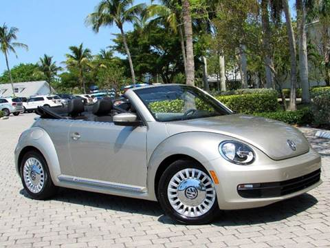 2016 Volkswagen Beetle for sale at Auto Quest USA INC in Fort Myers Beach FL