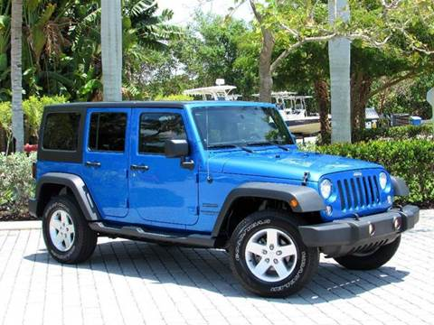 2014 Jeep Wrangler Unlimited for sale at Auto Quest USA INC in Fort Myers Beach FL