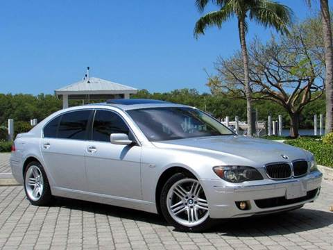 2006 BMW 7 Series for sale at Auto Quest USA INC in Fort Myers Beach FL