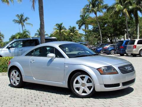 2000 Audi TT for sale at Auto Quest USA INC in Fort Myers Beach FL