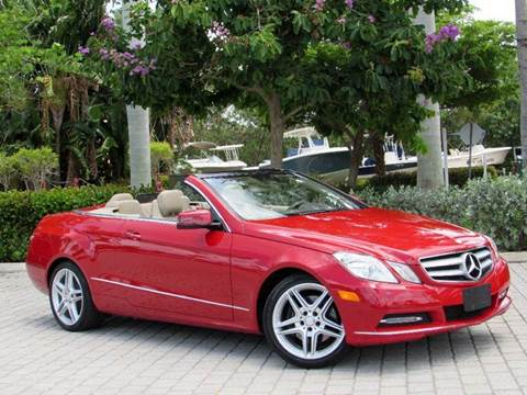 2013 Mercedes-Benz E-Class for sale at Auto Quest USA INC in Fort Myers Beach FL