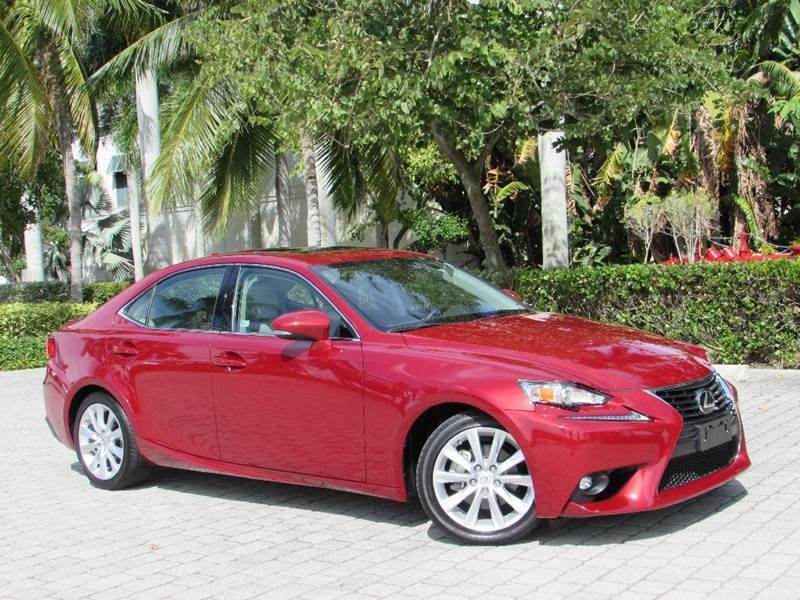 2015 Lexus IS 250 For Sale At Auto Quest USA INC In Fort Myers Beach FL