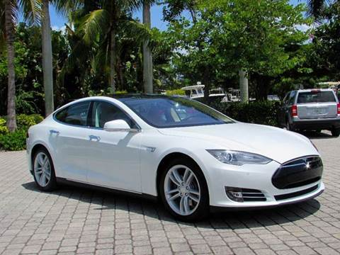 2014 Tesla Model S for sale at Auto Quest USA INC in Fort Myers Beach FL
