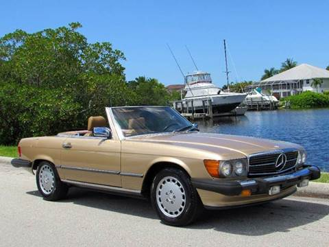 1988 Mercedes-Benz 560-Class for sale at Auto Quest USA INC in Fort Myers Beach FL