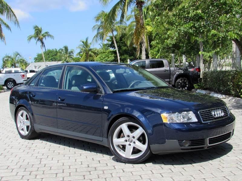 Audi A T In Fort Myers Beach FL Auto Quest USA INC - Audi a4 2004