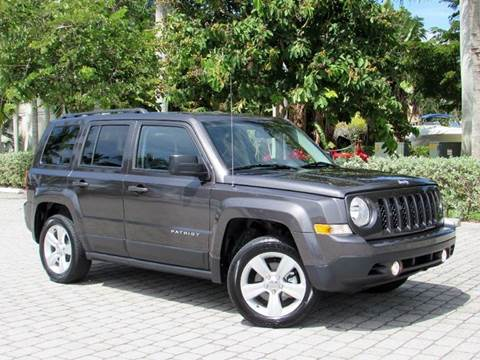 2016 Jeep Patriot for sale at Auto Quest USA INC in Fort Myers Beach FL