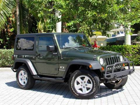 2009 Jeep Wrangler for sale at Auto Quest USA INC in Fort Myers Beach FL