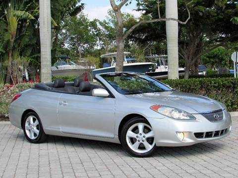 2005 Toyota Camry Solara for sale at Auto Quest USA INC in Fort Myers Beach FL