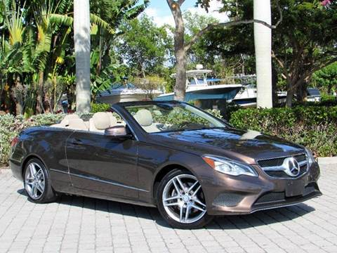 2014 Mercedes-Benz E-Class for sale at Auto Quest USA INC in Fort Myers Beach FL