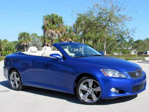 2010 Lexus IS 250C for sale at Auto Quest USA INC in Fort Myers Beach FL