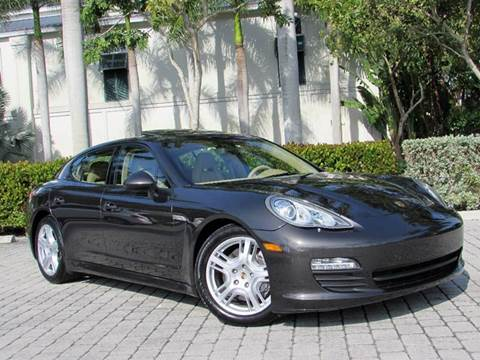 2011 Porsche Panamera for sale at Auto Quest USA INC in Fort Myers Beach FL
