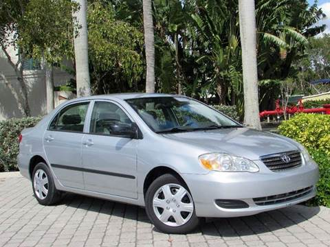 2007 Toyota Corolla for sale at Auto Quest USA INC in Fort Myers Beach FL