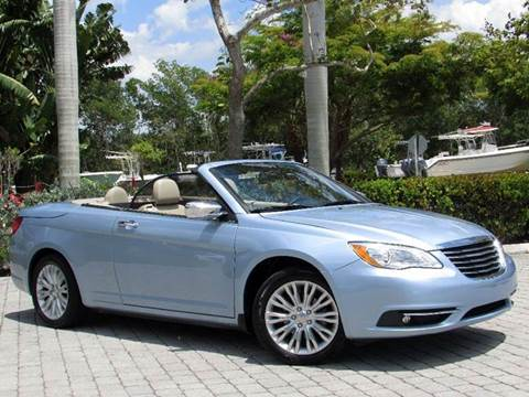 2013 Chrysler 200 Convertible for sale at Auto Quest USA INC in Fort Myers Beach FL