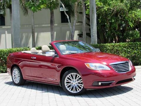 2012 Chrysler 200 Convertible for sale at Auto Quest USA INC in Fort Myers Beach FL