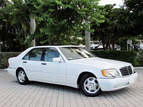 1998 Mercedes-Benz S-Class for sale at Auto Quest USA INC in Fort Myers Beach FL