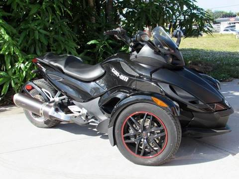 2012 Can-Am Spyder for sale at Auto Quest USA INC in Fort Myers Beach FL